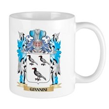 Giannini Coat of Arms - Family Crest Mugs