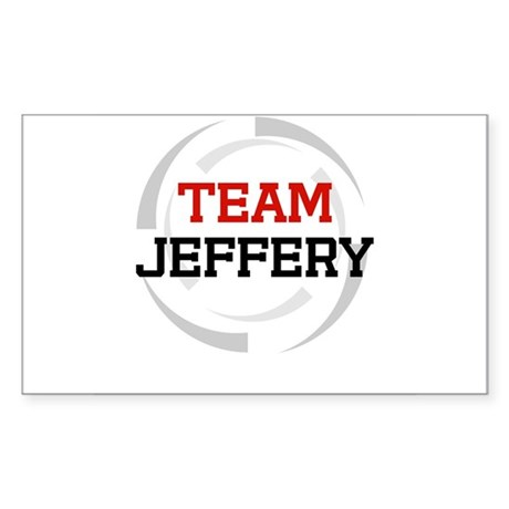 Jeffery Rectangle Sticker
