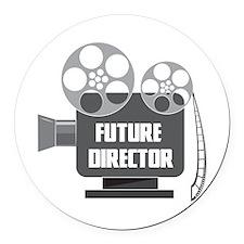 FUTURE DIRECTOR Round Car Magnet