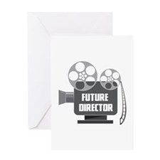 FUTURE DIRECTOR Greeting Cards