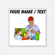 Custom Signing Autographs Sticker
