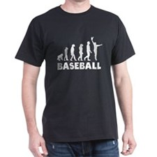 Baseball Catch Evolution T-Shirt