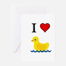 DUCK Greeting Cards