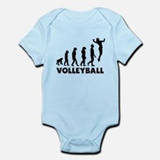 Volleyball Serve Evolution Body Suit