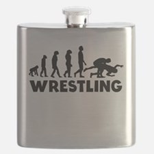 Wrestling Evolution Flask