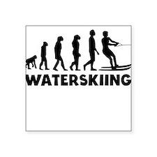 Waterskiing Evolution Sticker