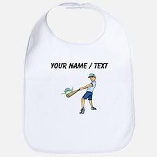 Custom Baseball Kid Bib
