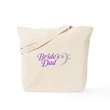 Bride's Dad(clef) Tote Bag