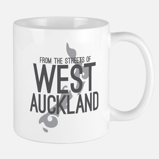 From the streets of WEST AUCKLAND New Zealand Mugs