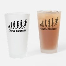 Cross Country Evolution Drinking Glass