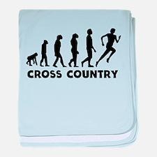 Cross Country Evolution baby blanket