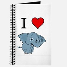 Cute Elephant love Journal
