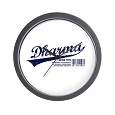 Dharma Baseball Wall Clock