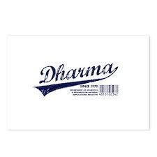 Dharma Baseball Postcards (Package of 8)