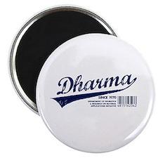 Dharma Baseball Magnet
