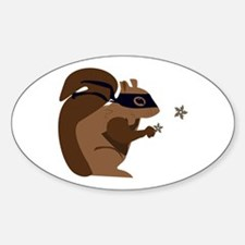 Masked Squirrel Decal