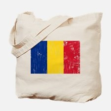 Vintage Romania Tote Bag