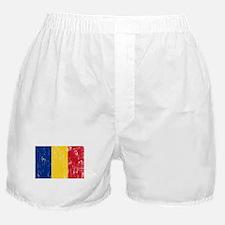 Vintage Romania Boxer Shorts