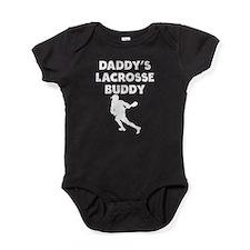 Daddys Lacrosse Buddy Baby Bodysuit