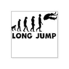 Long Jump Evolution Sticker