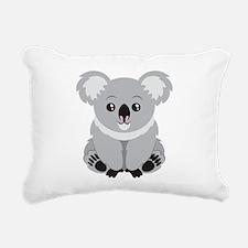 Cool Koala Rectangular Canvas Pillow