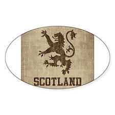 Cute Scotland vintage Decal