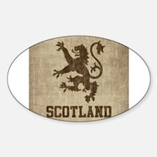 Cute Scotland lion Decal