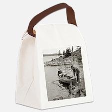 Unique Ontario Canvas Lunch Bag