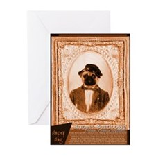 Pug RUPERT Greeting Cards (Pk of 10)