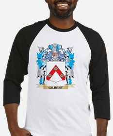 Gilbert Coat of Arms - Family Cres Baseball Jersey
