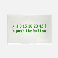 push the button Rectangle Magnet (10 pack)