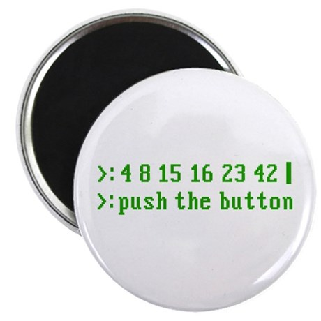 """push the button 2.25"""" Magnet (10 pack)"""