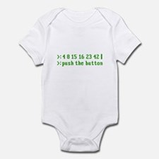 push the button Infant Bodysuit