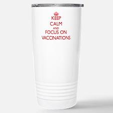 Funny Inoculations Travel Mug