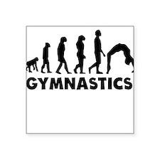 Gymnastics Evolution Sticker