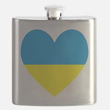Cute Ukraine Flask