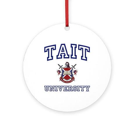 TAIT University Ornament (Round)