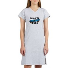 Skater Dude Women's Nightshirt