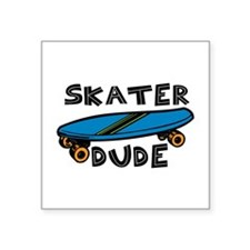 Skater Dude Sticker