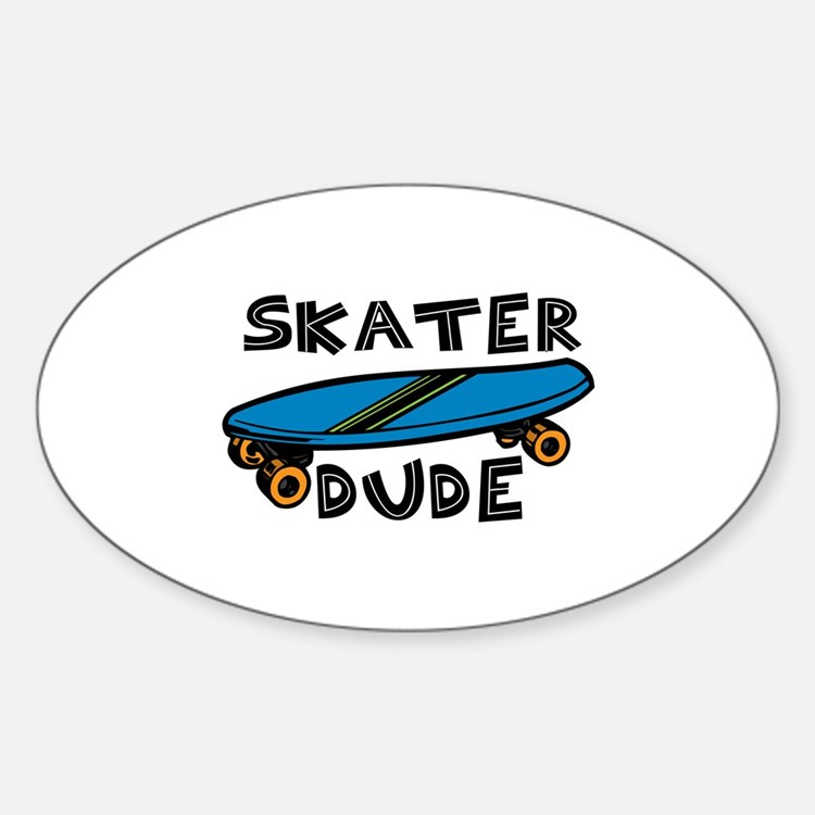 Skater Dude Decal