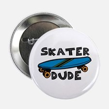 """Skater Dude 2.25"""" Button (10 pack)"""