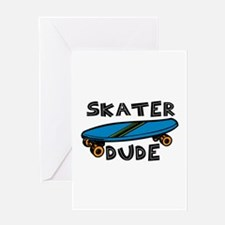 Skater Dude Greeting Cards