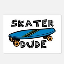 Skater Dude Postcards (Package of 8)