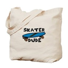 Skater Dude Tote Bag