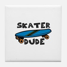 Skater Dude Tile Coaster