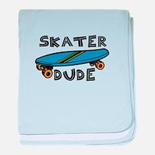 Skater Dude baby blanket