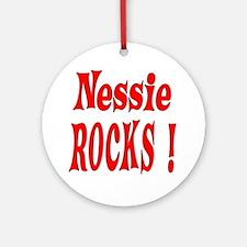 Nessie - Red Ornament (Round)