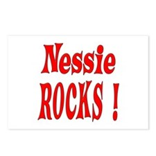 Nessie - Red Postcards (Package of 8)