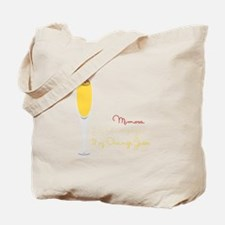 Mimosa Recipe Tote Bag