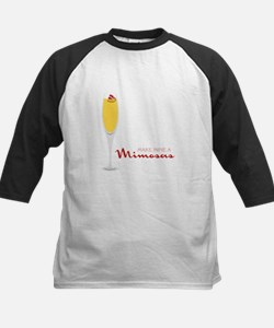 Make Mine Mimosas Baseball Jersey